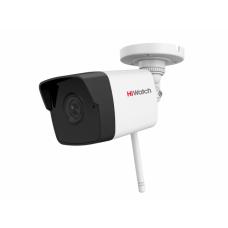 2Мп цилиндрическая IP-видеокамера с EXIR-подсветкой до 30 м WiFi HiWatch DS-I250WB
